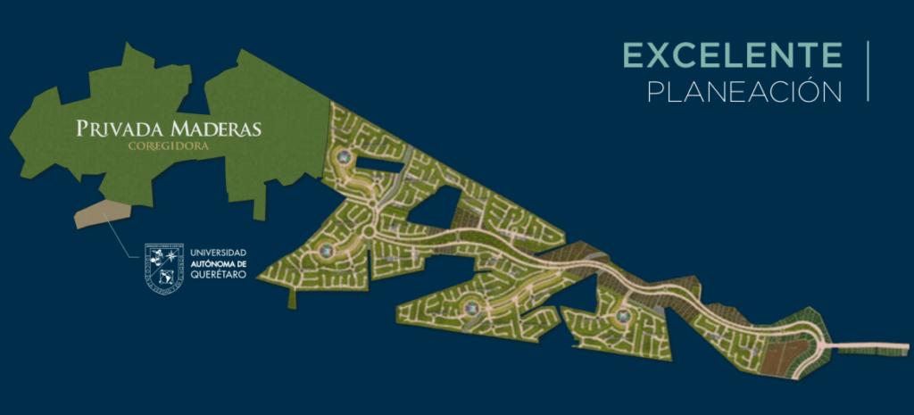 Master plan ciudad maderas corregidora