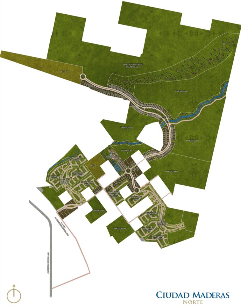 Master plan ciudad maderas Norte